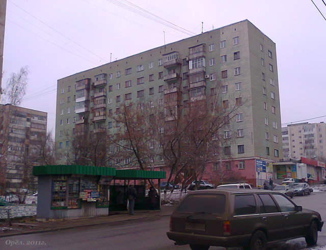Дома серии 1Р-447С-25 Орёл Россия (отр.адм.)