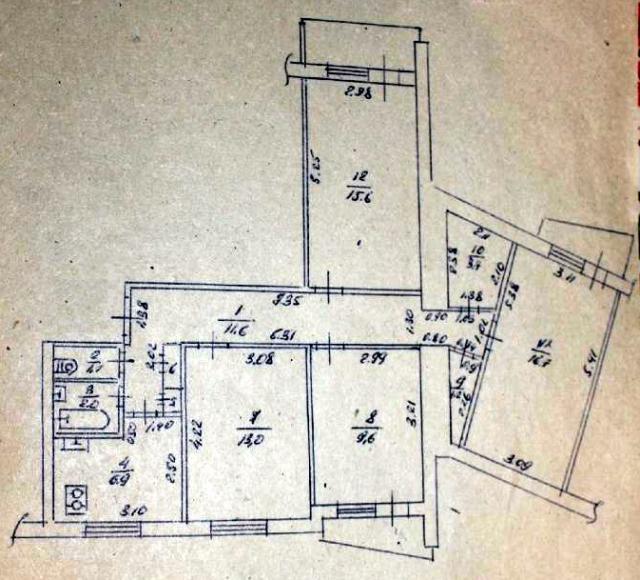 4-комнатная арочная