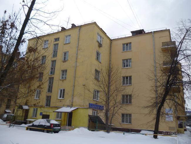 Автозаводская улица, 19к1 конструктивистский дом