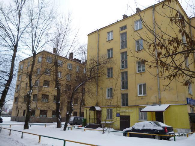Автозаводская улица, 19 корп. 1 и к. 2 конструктивистские дома