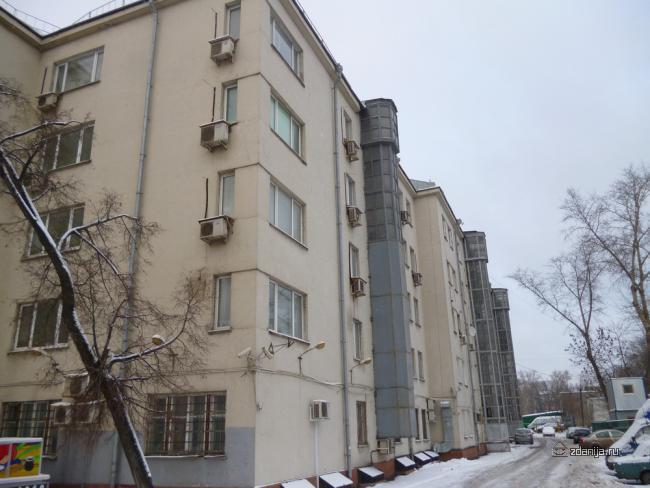 Автозаводская улица, дом 17 корп 3 конструктивизм