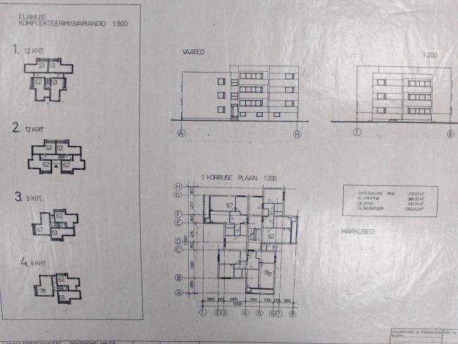 EKE-12.1 - варианты компоновки