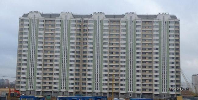 Москва, Покровская улица, дом 16, серия П-44К (ЮВАО, район Некрасовка)