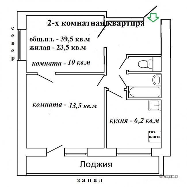 Москва, 15-я Парковая улица, дом 40, корпус 5, Серия И209а (ВАО, район Северное Измайлово)