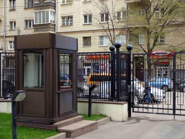 Москва, Лесная улица, дом 6, корпус 1 (ЦАО, район Тверской)