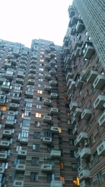 Москва, улица Маршала Тухачевского, дом 37/21 (СЗАО, район Хорошево-Мневники)