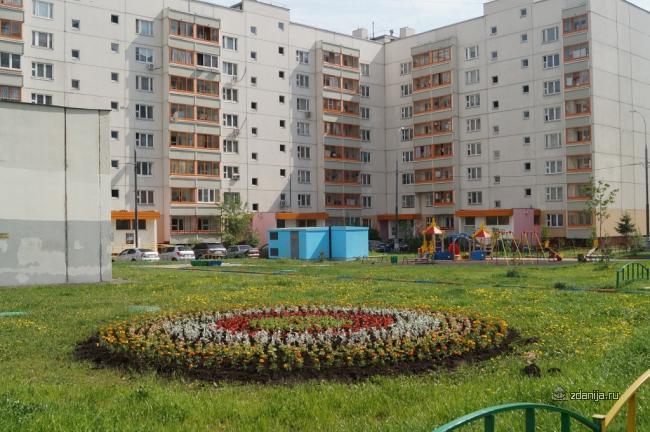 Москва, улица Марьинский Парк, дом 41, корпус 1, Серия П-46м (ЮВАО, район Люблино)
