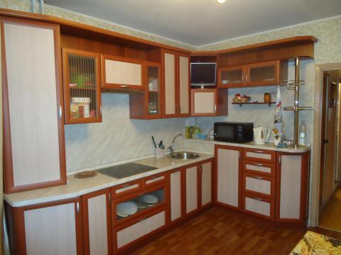 Дизайн кухни в домах серии П44т