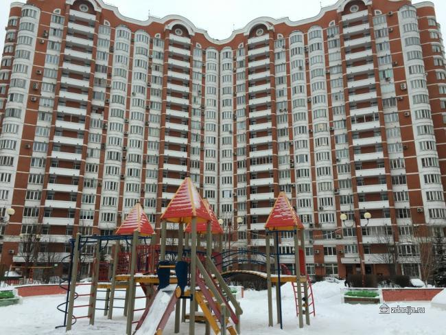 Москва, Мичуринский проспект, дом 11, корпус 4 (ЗАО, район Раменки)