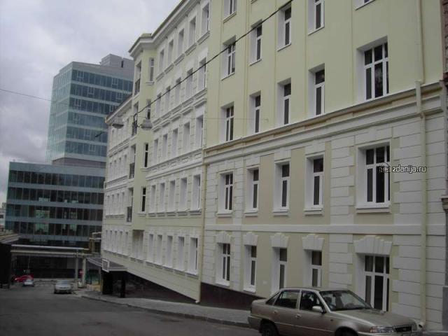 Москва, Печатников переулок, дом 3, строение 1 (ЦАО, район Мещанский)