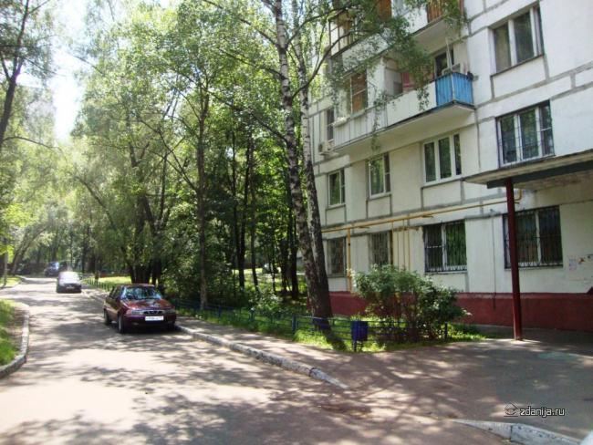 Москва, Болотниковская улица, дом 40, корпус 5, Серия II-68 (ЮЗАО, район Зюзино)