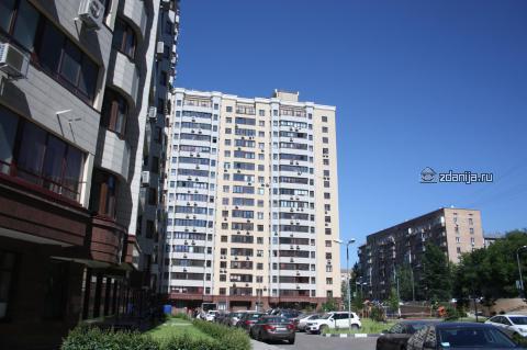 Москва, улица Пудовкина, дом 7 (ЗАО, район Раменки)