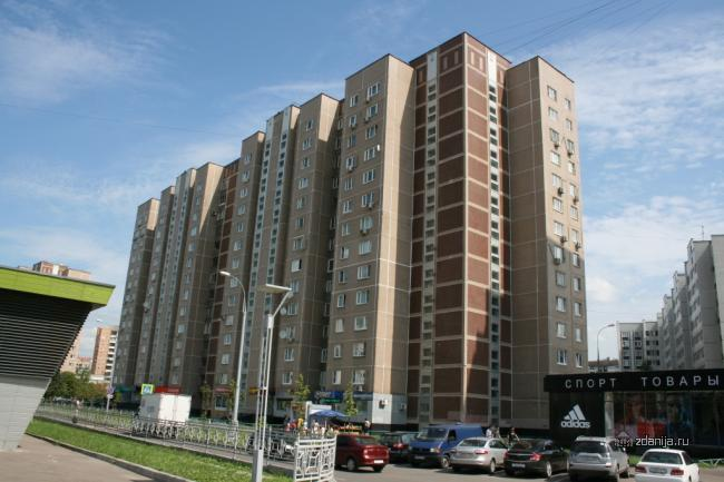 Москва, улица Генерала Кузнецова, дом 13, корпус 1, Серия П-55 (ЮВАО, район Выхино-Жулебино)