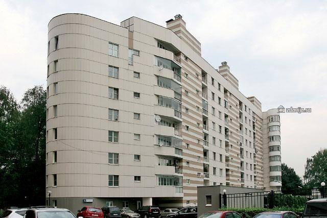 Москва, Звенигородская улица, дом 8, корпус 2 (ЗАО, район Фили-Давыдково)