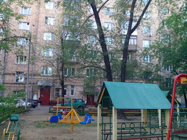 Москва, улица Новая Башиловка, дом 3 (САО, район Аэропорт)