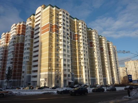 Москва, Коктебельская улица, дом 8, Серия П111М (ЮЗАО, район Северное Бутово)