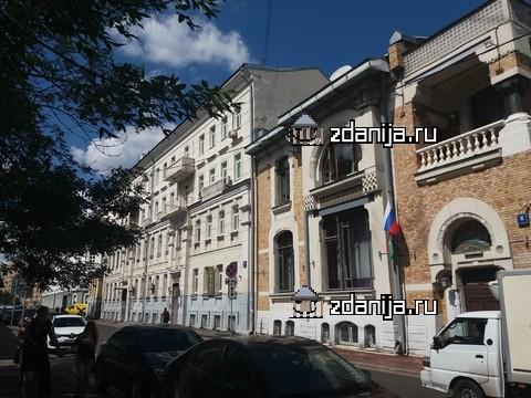 Москва, Глазовский переулок, дом 10, строение 1 (ЦАО, район Арбат)