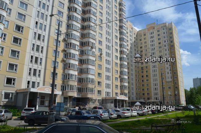 Москва, Полоцкая улица, дом 25, корпус 1 (ЗАО, район Кунцево)