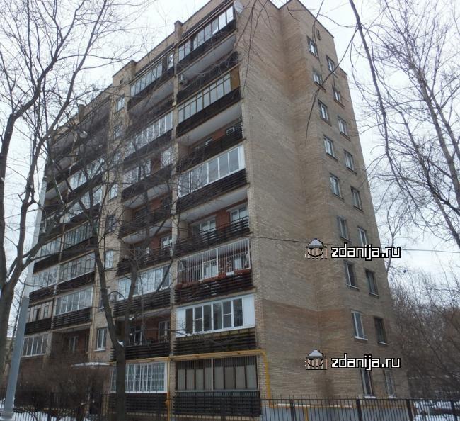 Москва, Ленинградский проспект, дом 43, корпус 1 (САО, район Хорошевский)