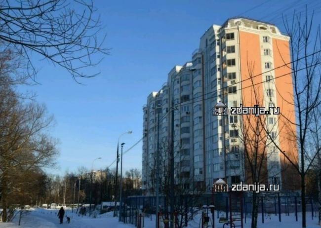 Москва, улица Красный Казанец, дом 3, корпус 7 (ВАО, район Вешняки)