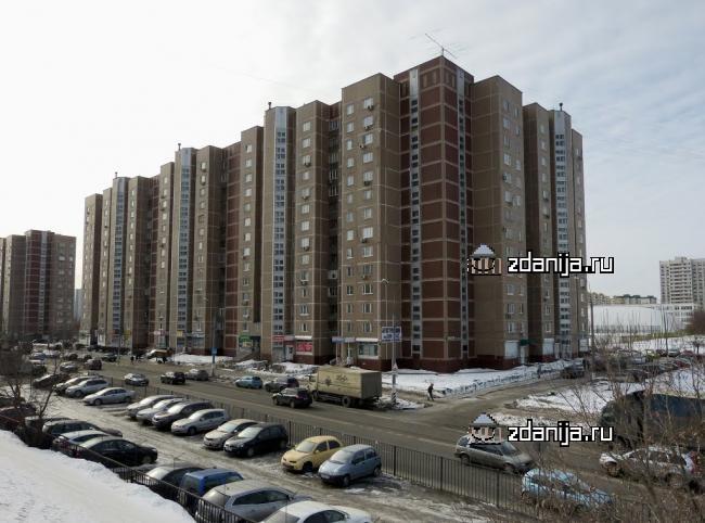 Москва, улица Борисовские Пруды, дом 16, корпус 2, Серия П-55 (ЮАО, район Братеево)