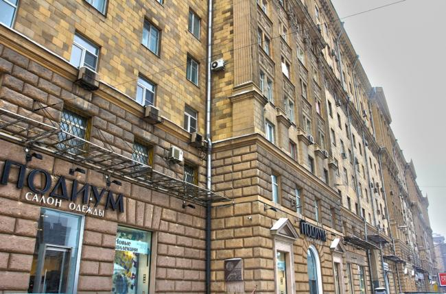 Москва, Новинский бульвар, дом 18, строение 1 (ЦАО, район Арбат)