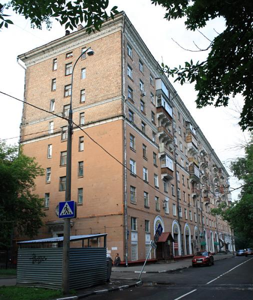 Москва, улица Сальвадора Альенде, дом 4, корпус 1 (САО, район Сокол)