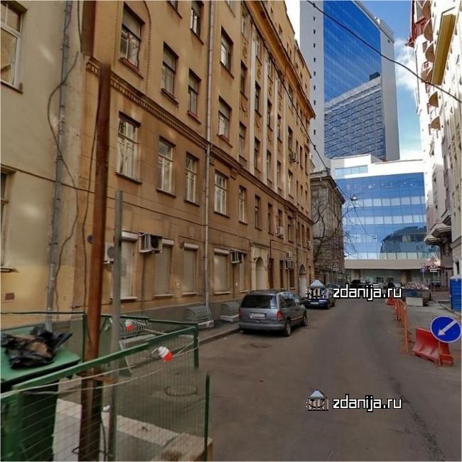 Москва, Малый Каковинский переулок, дом 3 (ЦАО, район Арбат)
