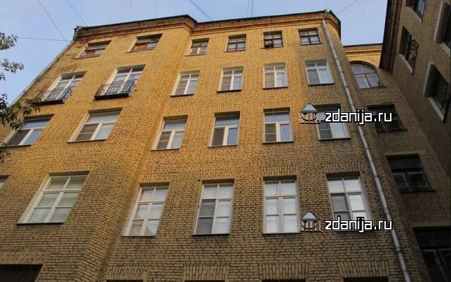Москва, переулок Сивцев Вражек, дом 12 (ЦАО, район Арбат)
