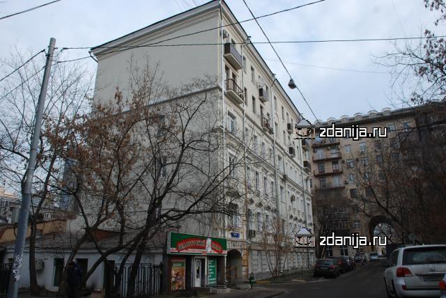 Москва, проезд Шломина, дом 6 (ЦАО, район Арбат)