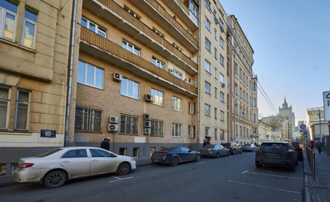 Москва, переулок Сивцев Вражек, дом 21 (ЦАО, район Хамовники)