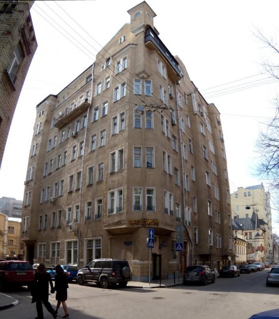 Москва, Трехпрудный переулок, дом 5 (ЦАО, район Пресненский)