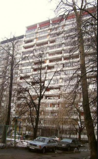 Москва, Нижняя Первомайская улица, дом 45, Серия II-68 (ВАО, район Восточное Измайлово)