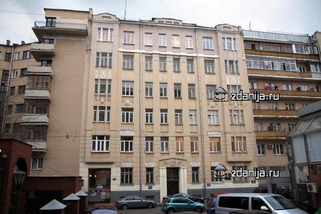 Москва, переулок Сивцев Вражек, дом 19 (ЦАО, район Хамовники)