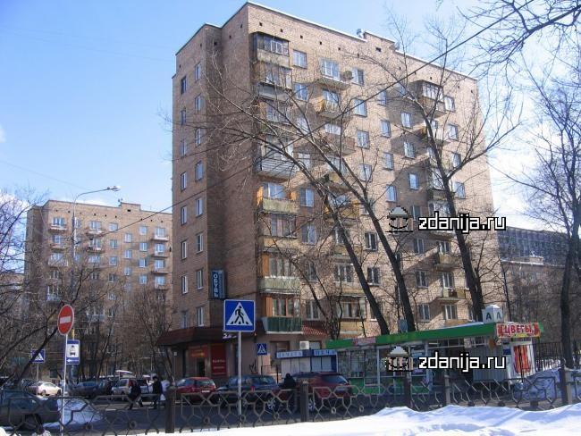Москва, улица Усиевича, дом 17 (САО, район Аэропорт)
