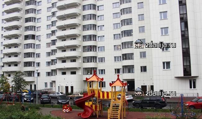 Москва, Кастанаевская улица, дом 50, корпус 1 (ЗАО, район Фили-Давыдково)