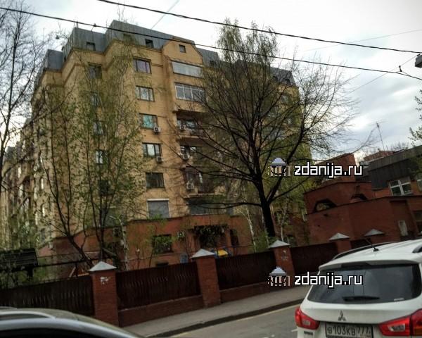 Москва, переулок Сивцев Вражек, дом 20 (ЦАО, район Арбат)