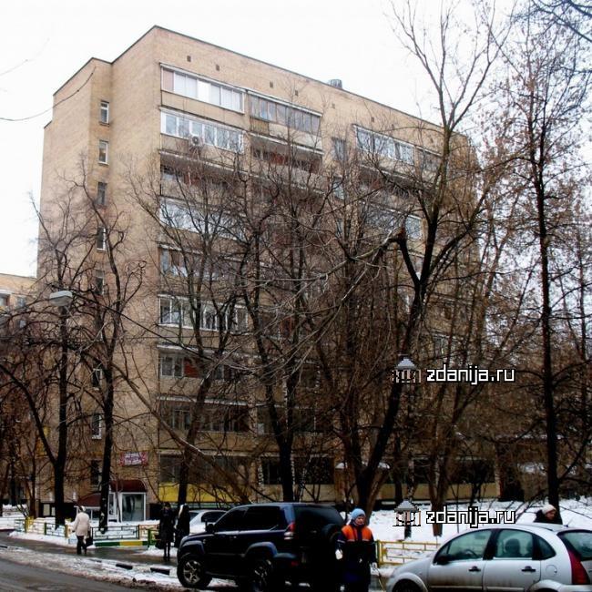 Москва, улица Шухова, дом 19, Серия II-29-41/37(38) (ЮАО, район Даниловский)