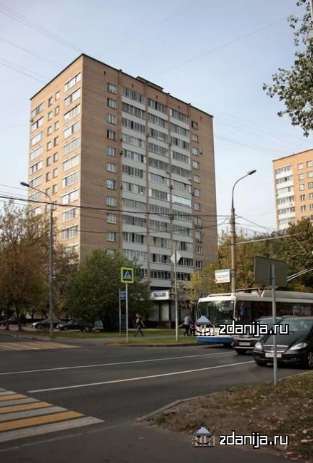 Москва, Свободный проспект, дом 24 Башня Вулыха II-67 (ВАО, район Новогиреево)