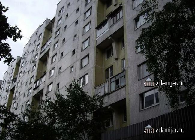 Москва, Бирюлевская улица, дом 55, корпус 1, Серия П-46 (ЮАО, район Бирюлево Восточное)