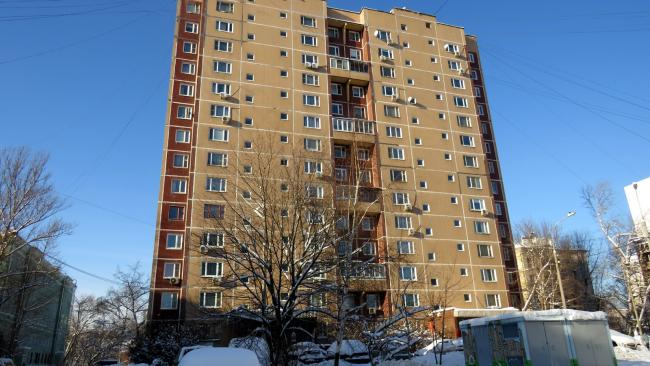 Москва, 3-й Михалковский переулок, дом 15, корпус 4, Серия П-46 (САО, район Коптево)