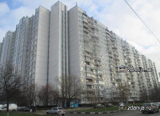 Москва, Бирюлевская улица, дом 45, корпус 1, Серия П-44 (ЮАО, район Бирюлево Восточное)