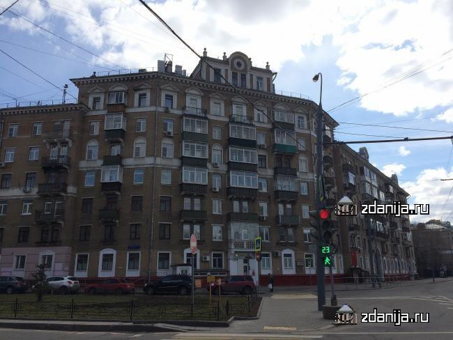 Москва, Новопесчаная улица, дом 13, корпус 2 (САО, район Сокол)