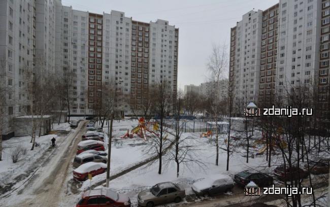 Москва, улица Борисовские Пруды, дом 46, корпус 2, Серия П-44 (ЮАО, район Братеево)