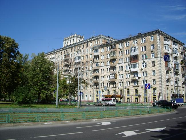 Москва, Новопесчаная улица, дом 23, корпус 1 (САО, район Сокол)