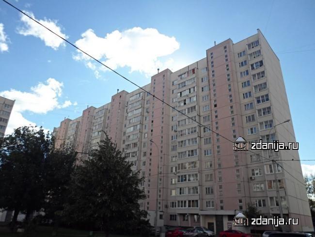 Москва, Шарикоподшипниковская улица, дом 28 Серия П-46м (ЮВАО, район Южнопортовый)