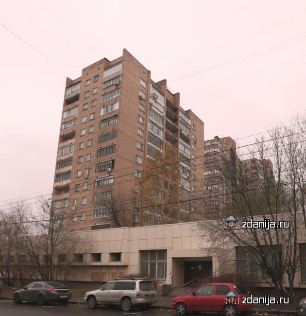 Москва, улица Кибальчича, дом 12, корпус 2 Серия Башня Вулыха II-67 (СВАО, район Алексеевский)
