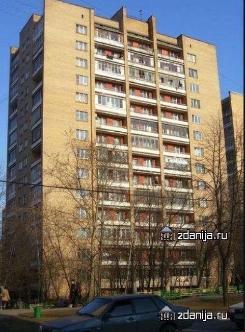 Москва, Бирюлевская улица, дом 37, корпус 1, Башня Вулыха II-67 (ЮАО, район Бирюлево Восточное)