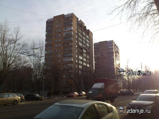 Москва, Ельнинская улица, дом 3 (ЗАО, район Кунцево)