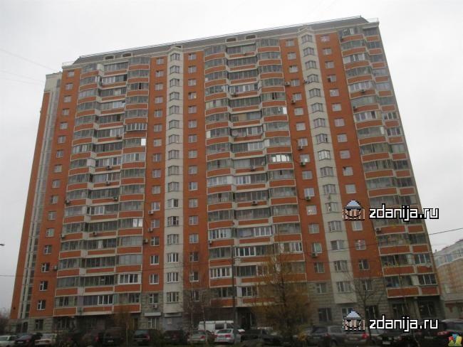 Москва, Бирюлевская улица, дом 1, корпус 1, Серия П-44т (ЮАО, район Бирюлево Восточное)